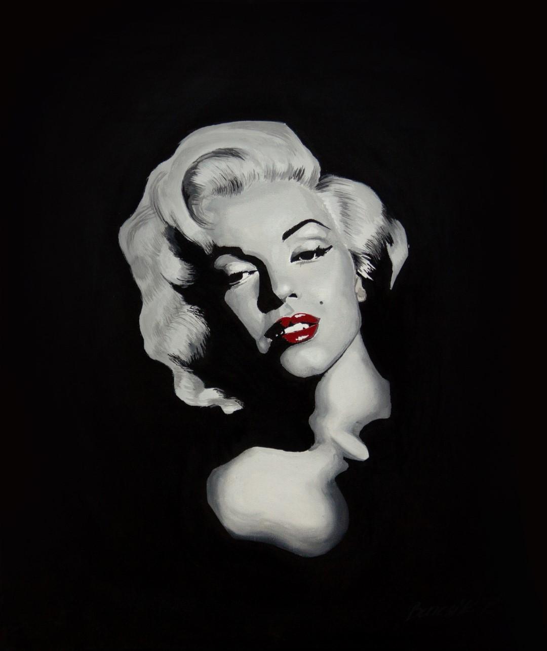 Olajportré – Monroe